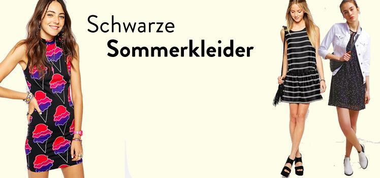Schwarze Sommerkleider