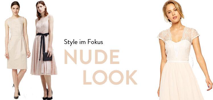 Nude-Look Kleider
