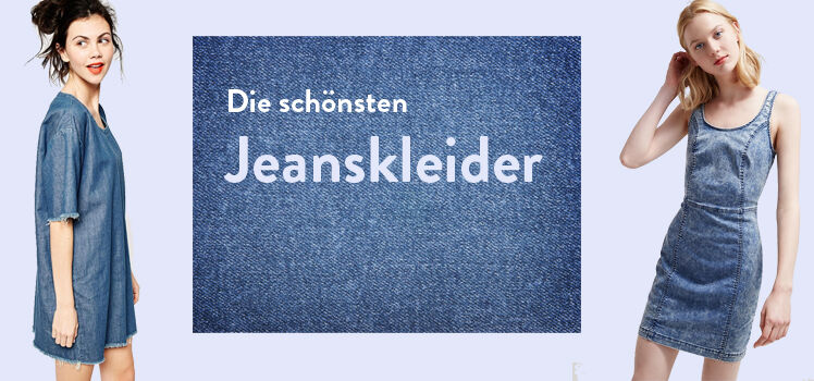 Die schönsten Jeanskleider