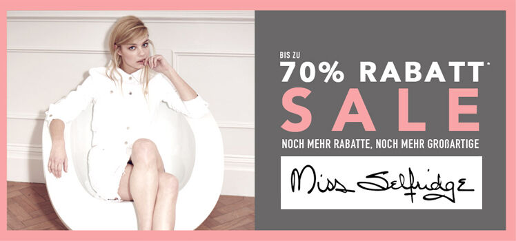 Miss Selfridge Sale