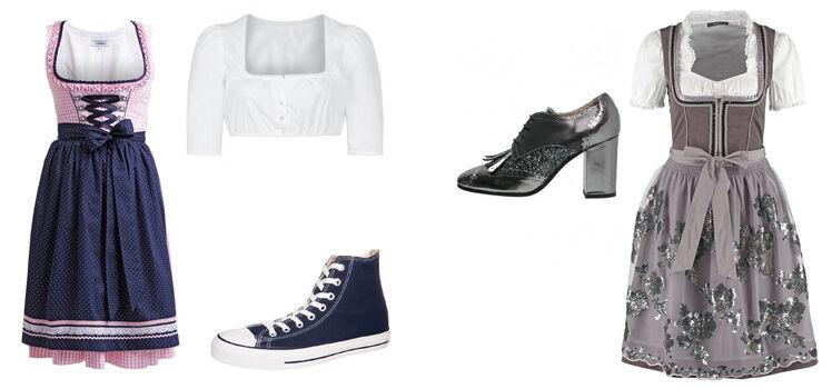 Welche Schuhe zum Dirndl