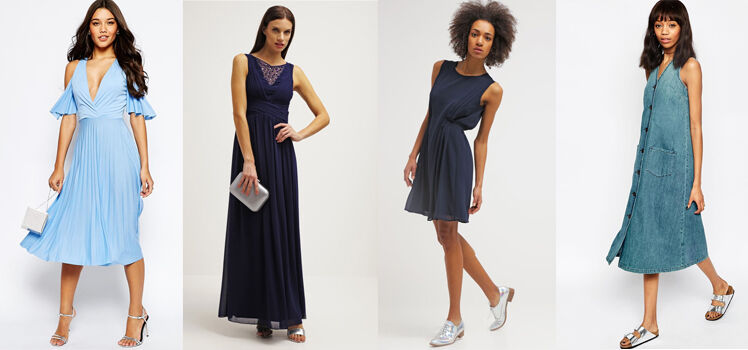 Welche Schuhe zum blauen Kleid? So findest Du den Richtigen