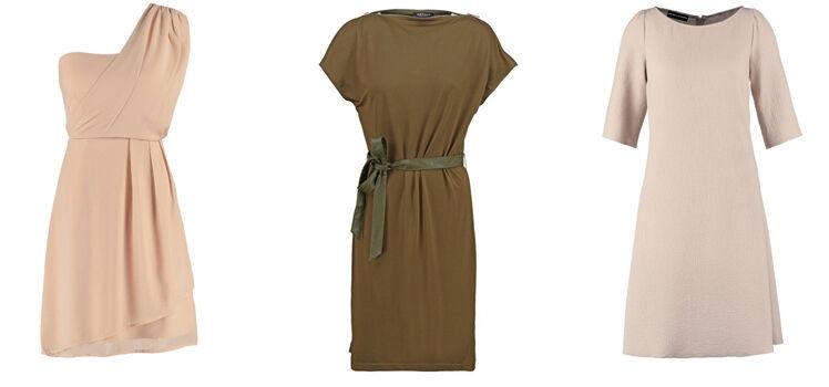 Kleider in Naturtönen