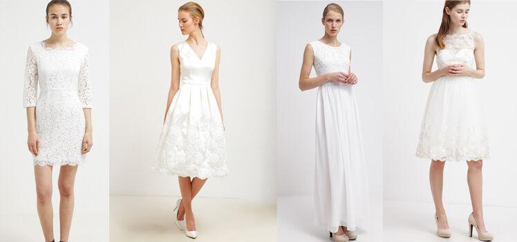 Brautkleider im Standesamt
