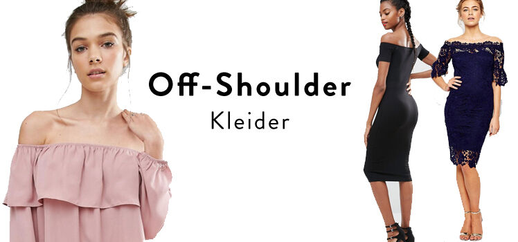 Off-Shoulder Kleider