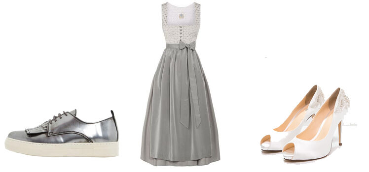 Schuhe zum dirndl elegant