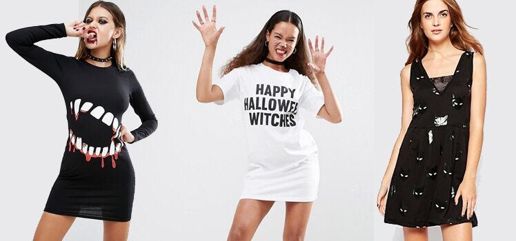 Halloweenkleider Gruselkleider