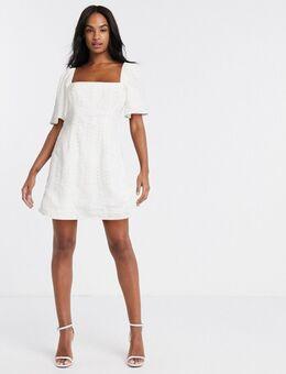 – Never let me go – Minikleid-Weiß
