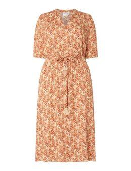 PLUS SIZE Kleid aus Viskose Modell 'Laya'