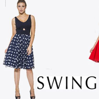 Swing Kleider Outlet – hier findest Du die trendigen Abendkleider günstig